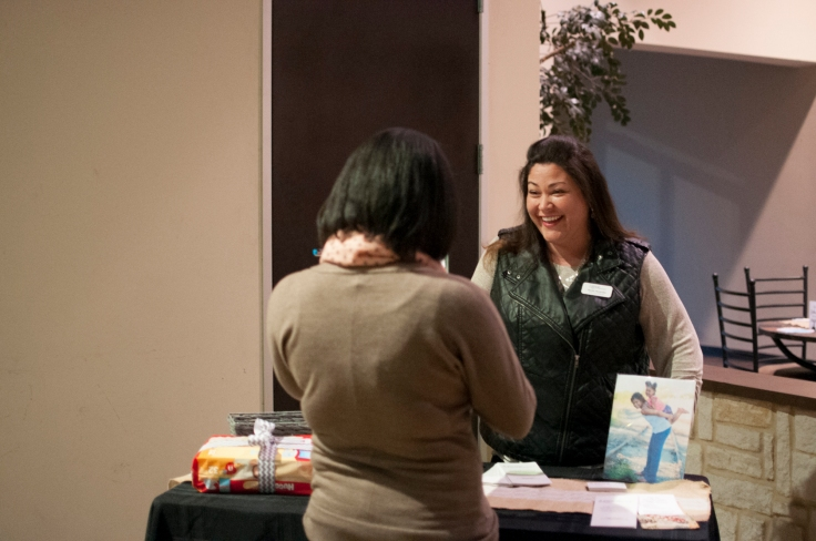 Bridges Safehouse at the recent Ladies event hosted by Church on the Hill.